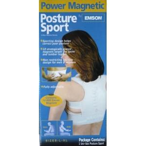 Magnetický rovnací pás na záda Power Magnetic