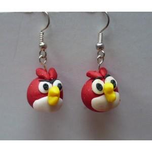 Náušnice Angry Birds