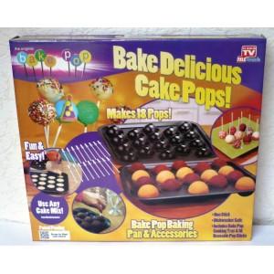 Pečící forma Cake Pops, sada na výrobu dortových lízátek