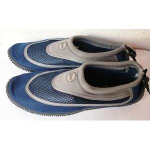 Koupací boty do vody pánské neoprenové modré
