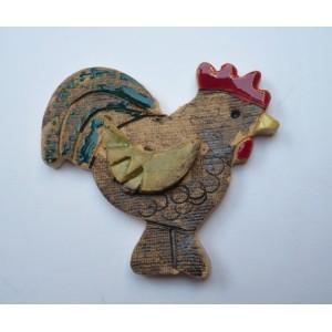Keramická velikonoční dekorace kohoutek