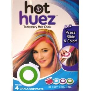 Smývatelné barvy na vlasy Hot Huez s rychlým aplikátorem
