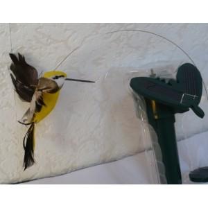 Solární létající kolibřík Solar Hummingbird žlutý