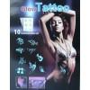 Glow Tattoo svítící tetování ve tmě, tetovací sada