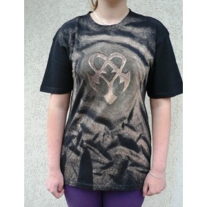 Malované tričko ornament 3 velikost M 48/50
