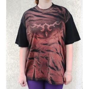 Malované tričko ornament 5 velikost XXL 58