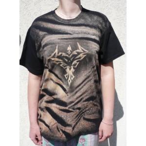 Malované tričko ornament ET velikost XL