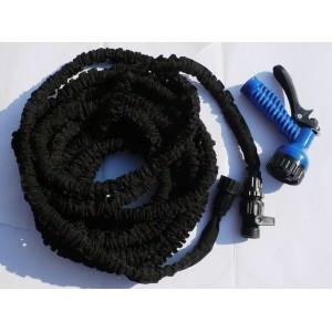 Flexibilní zahradní hadice smrštitelná, 15 m metrů + rozprašovač zdarma