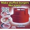 Tvořítko na plněné hamburgery a karbanátky