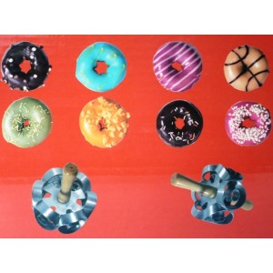 Rotační vykrajovač na donuty Donut Cutter