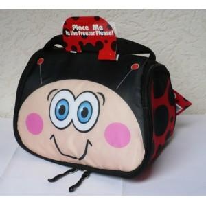 Dětská taška na svačinu chladící box - Snack pets beruška