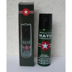 Kapesní obranný pepřový sprej pro sebeobranu Nato 90 ml