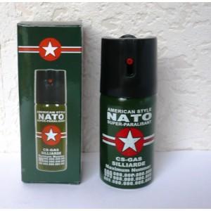 Kapesní obranný pepřový sprej pro sebeobranu Nato 40 ml