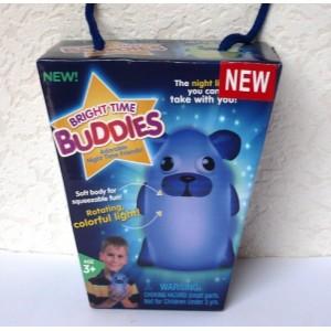 Noční světlo pro děti Buddies svítící zvířátko měnící barvy, lampička na usínání